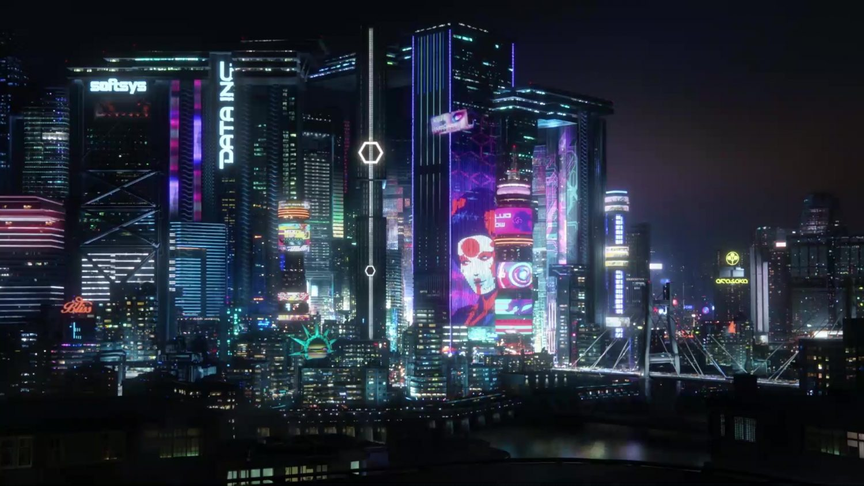 Cyberpunk 2077 City Live Wallpaper - WallpaperWaifu
