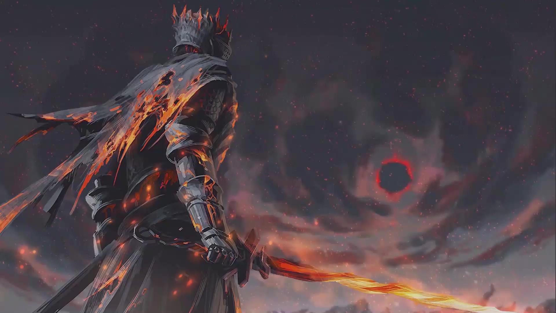 Dark Souls 3 Soul Of Cinder Live Wallpaper Wallpaperwaifu
