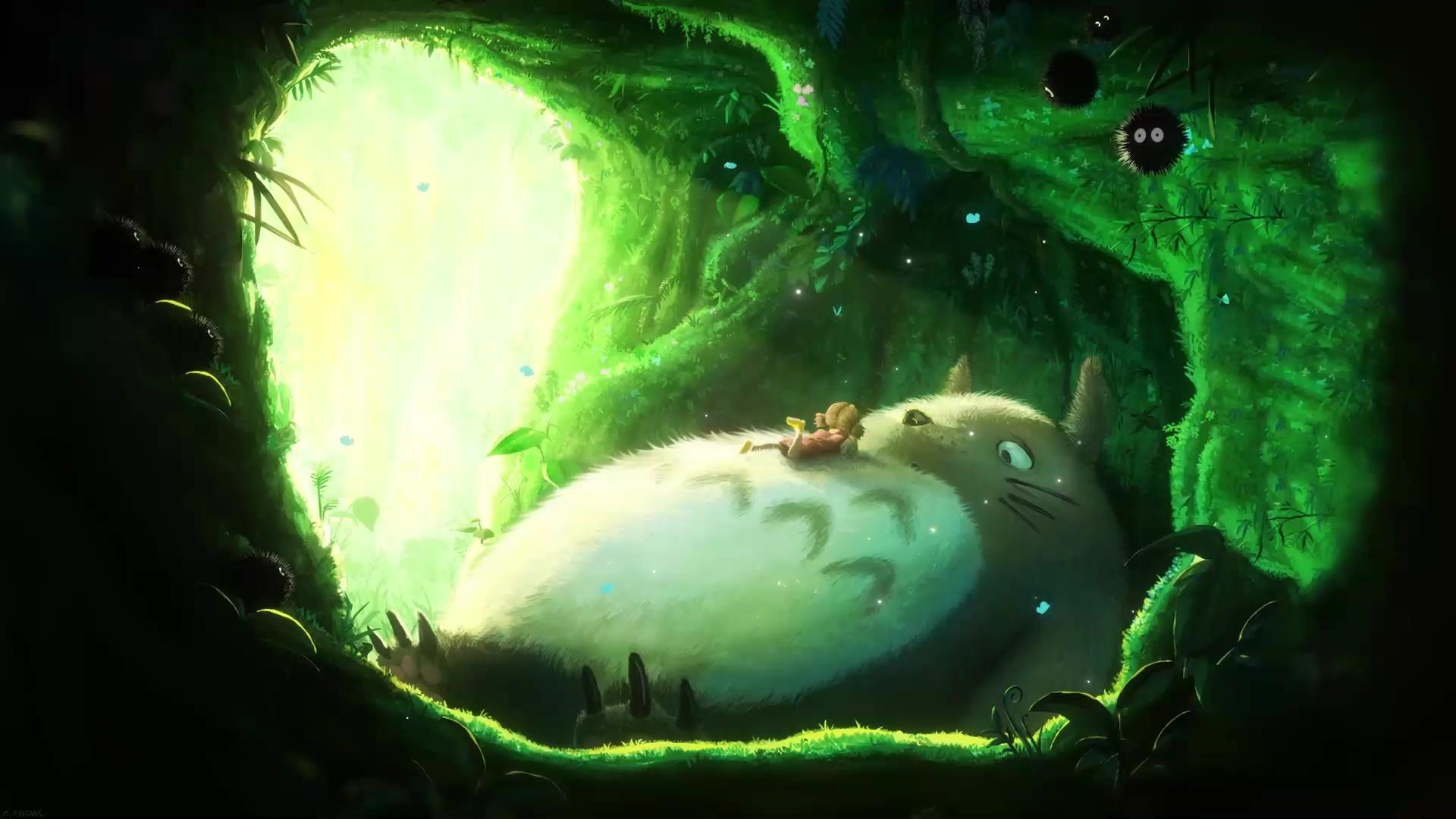 Totoro My Neighbor Totoro Live Wallpaper Wallpaperwaifu