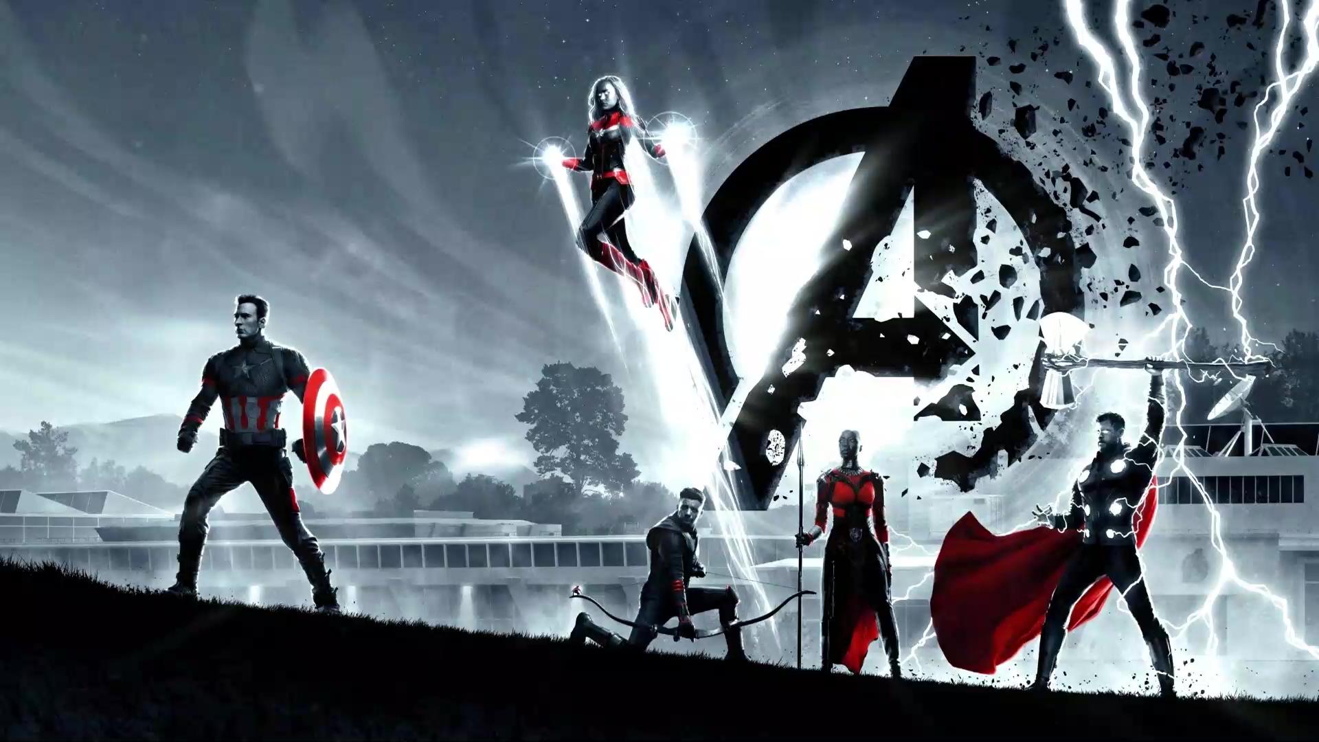 Avengers Endgame Marvel Live Wallpaper Wallpaperwaifu