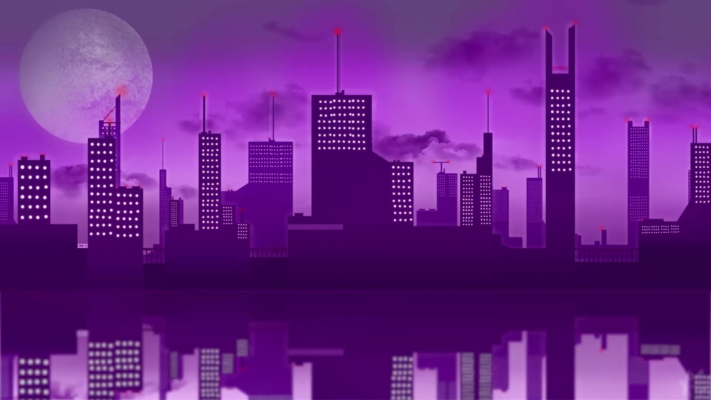 Dream City Night Lights Live Wallpaper - WallpaperWaifu