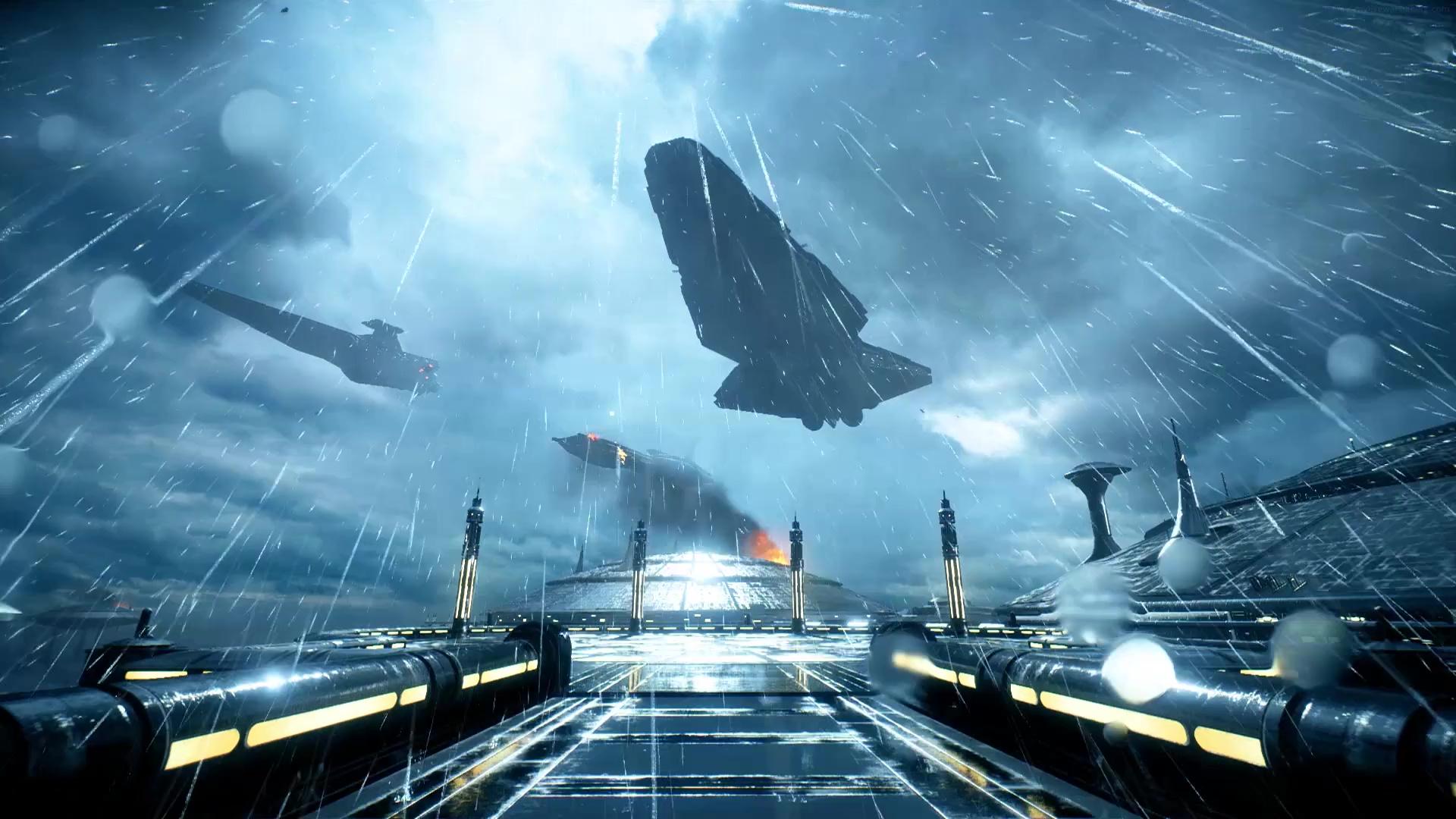 Star Wars Battlefront II: Battle Of Kamino Live Wallpaper ...